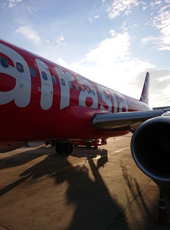 airasiaの機体