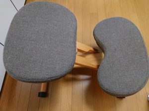姿勢矯正椅子の画像