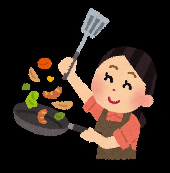調理のイラスト